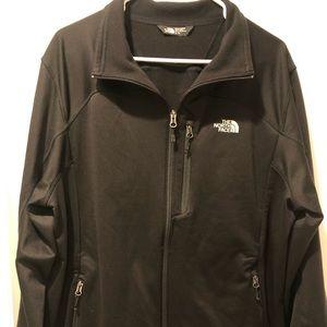 North Face Men's full zip sweater jacket